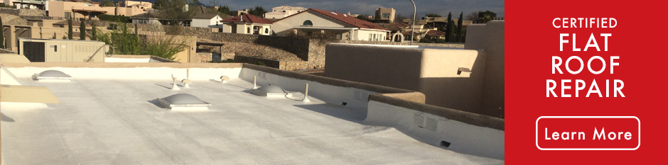 Atlas Home Repair Certified Flat Roof Repair